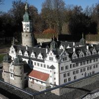 Modell des Schlosses Neideck - Arnstadt