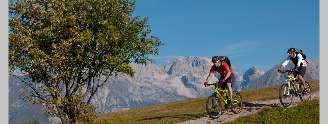 Con la ebike sul Monte Casale