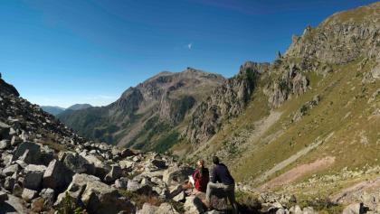 Sadole Pass - Panorama von Cardinal Spitze