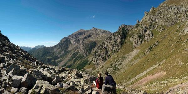Passo Sadole - Wiew to Cardinal Peak