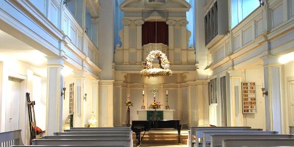 Innenraum - Jakobskirche - Weimar