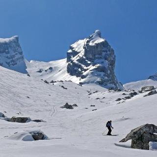 Skitour ins Watzmannkar