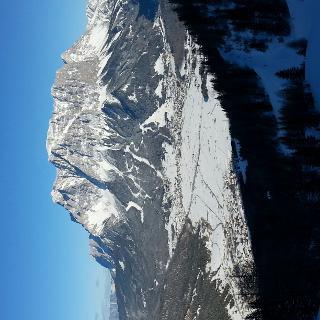 von der Terrasse blick zur Zugspitze