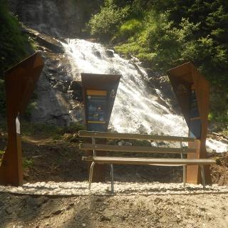 Alpe-Adria-Trail Infopoint Innerfragant