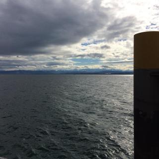 Anlegestelle Hagnau mit Blick Richtung Konstanz