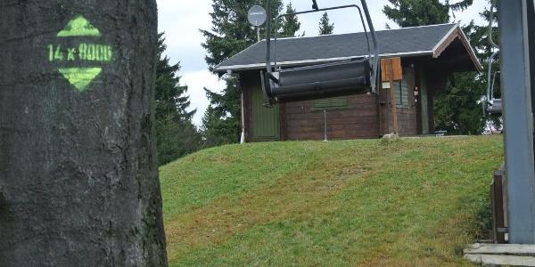 """""""14 Achttausender im Osterzgebirge"""" - Hemmschuh"""