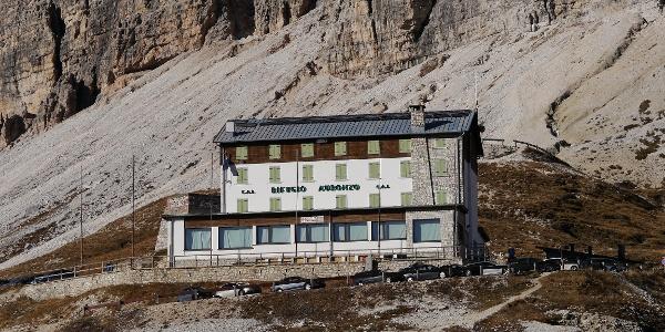 Das Rifugio Auronzo