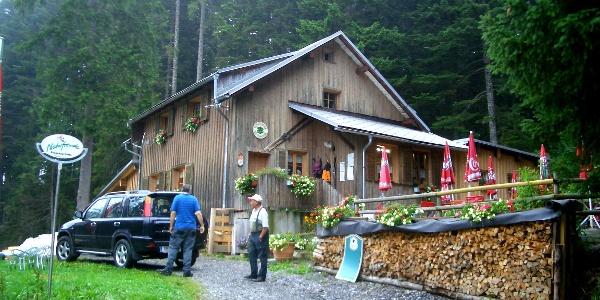 Naturfreunde Hütte: Bregenzer Hütte, Schwarzenberg