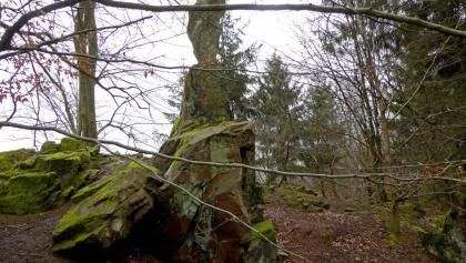 Der Spitze Stein am Altenstein