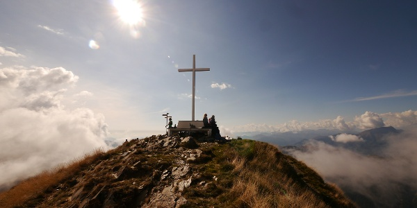 Der Gipfel des Monte Tamaro