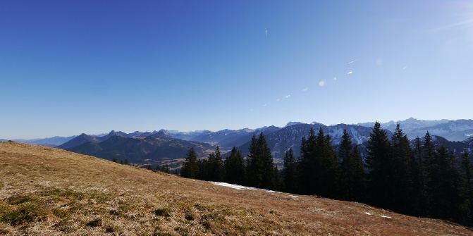 Von Unterjoch Zum Wertacher Hornle Wanderung Outdooractive Com
