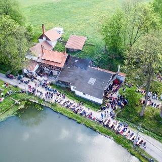 Brauerei Schmitt - Luftaufnahme - Singen