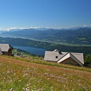 Die Alexanderhütte auf der Millstätter Alpe