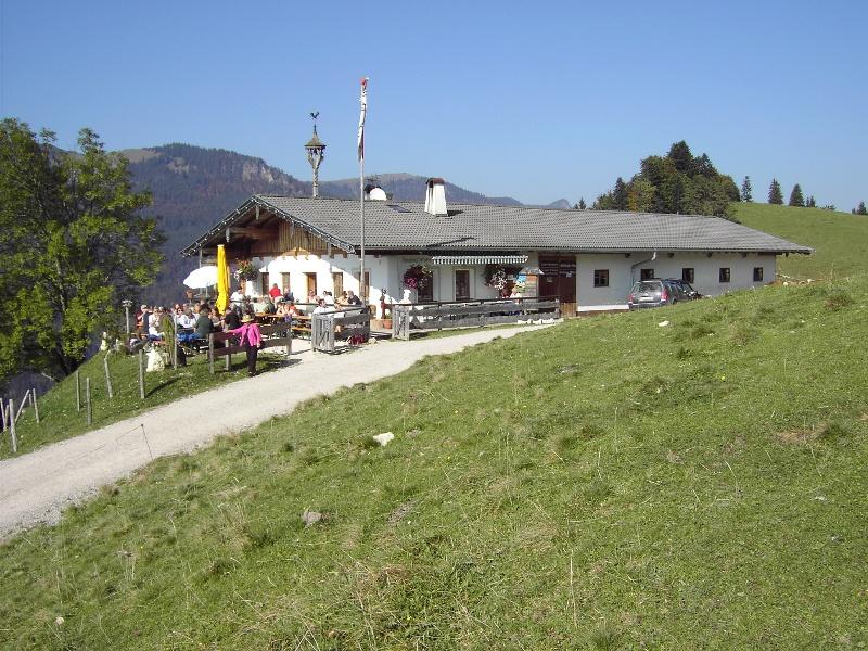 Von Sachrang zur Wildbichl Alm - Bergsteigerdörfer Schleching & Sachrang