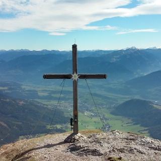 Gipfelkreuz Stoderzinken