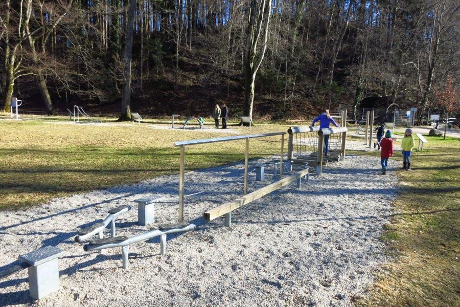 Trimm Dich Pfad Eichental Chiemsee Alpenland Tourismus
