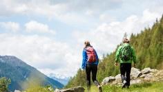 Wanderung zu den Samhütten