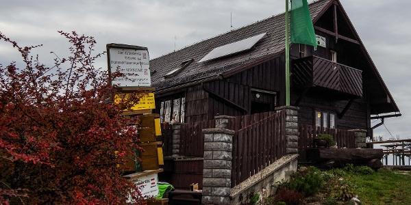 Die Grünburger Hütte am Weg von Molln nach Ternberg
