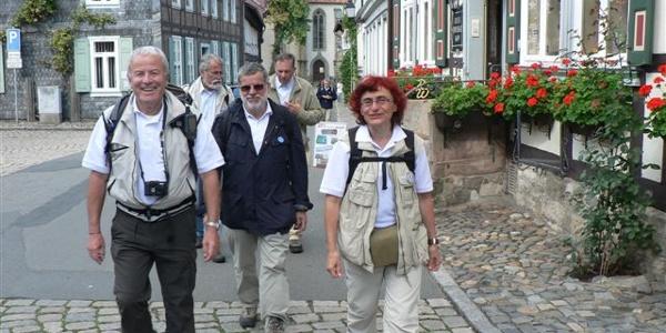 In der Marktstraße von Hornburg