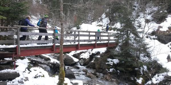 Brücke über den Löwenbach.