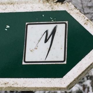 Malerwegzeichen