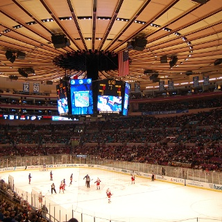 Eishockey im Madison Square Garden