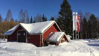 Destination of the cross-country ski trail at HAPIMAG