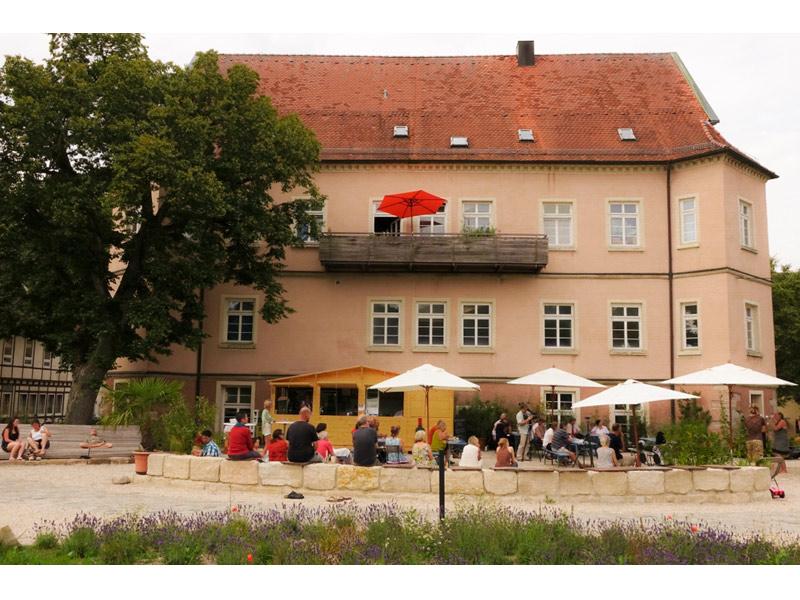 SchlossCafé Tempelhof  - @ Autor: Beate Philipp  - © Quelle: Unbekannt