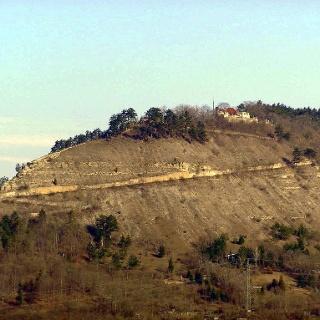 der Jenzig bei Jena (von Süden gesehen)