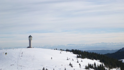 Grüblesattel mit Alpenpanorama