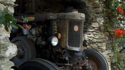 Museo dei trattori al Ungerichthof a Caines