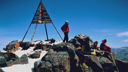 Jebel Tubkal - Ausblick genießen