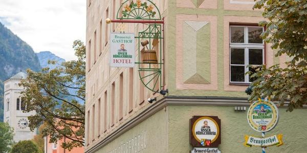 Heimatbrauer: Brauereigasthof Bürgerbräu