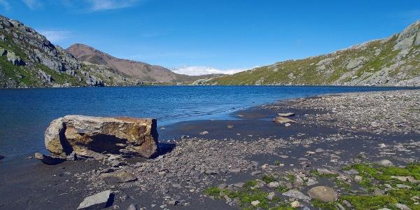 Mountain lakes in Binntal