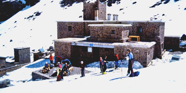 Refuge du Toubkal im Hohen Atlas