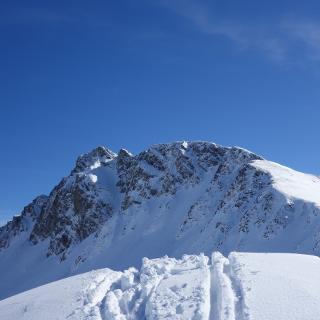 Geißstein vom Gipfel des Kitzstein.