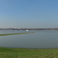 Rheinauen, Blick zum Niederrheim