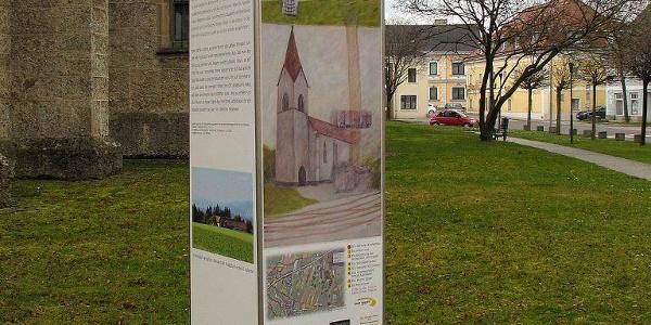 Sagenort: St. Valentiner Kirchenbau