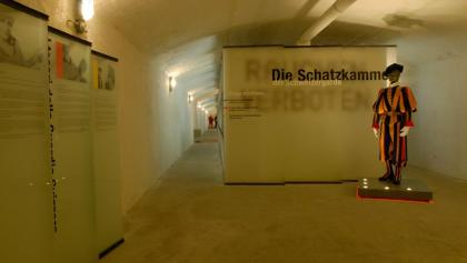 The museum of the Swiss Guards in the old military fortress