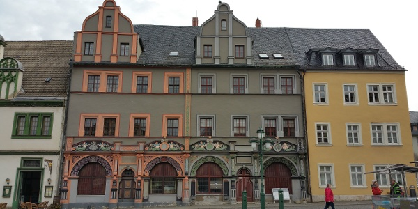 Cranachhaus auf der Ostseite des Marktes - Weimar