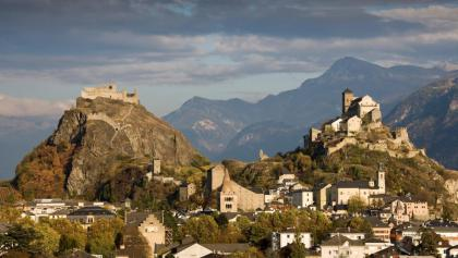 The castles of Valère and Tourbillon
