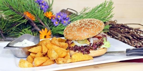 Alpengasthof Hörnlepass Highland Burger