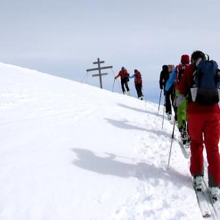 Äüßerer Nockenkopf -Wintergipfel, 2744 m, wird erreicht!