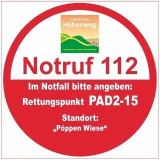 Rettungspunkt PAD2-15: