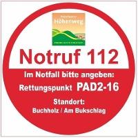 Rettungspunkt PAD2-16: Buchholz / Am Bukschlag