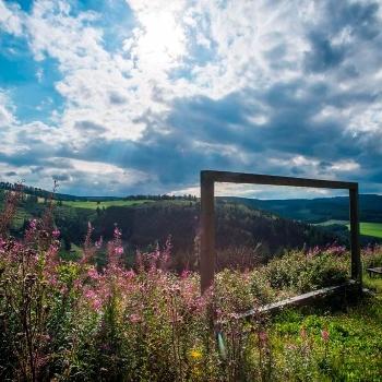 Landschaftsrahmen bei Winterberg