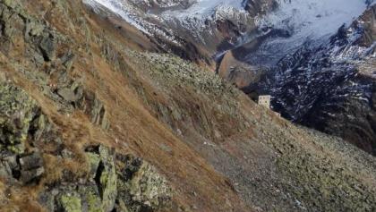 Blick von den Krimmler Tauern zur Birnlückenhütte
