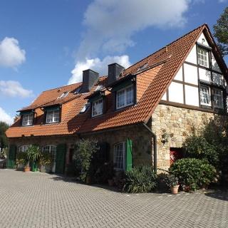 Altes Gasthaus Fischer-Eymann in Bad Iburg, Außenansicht
