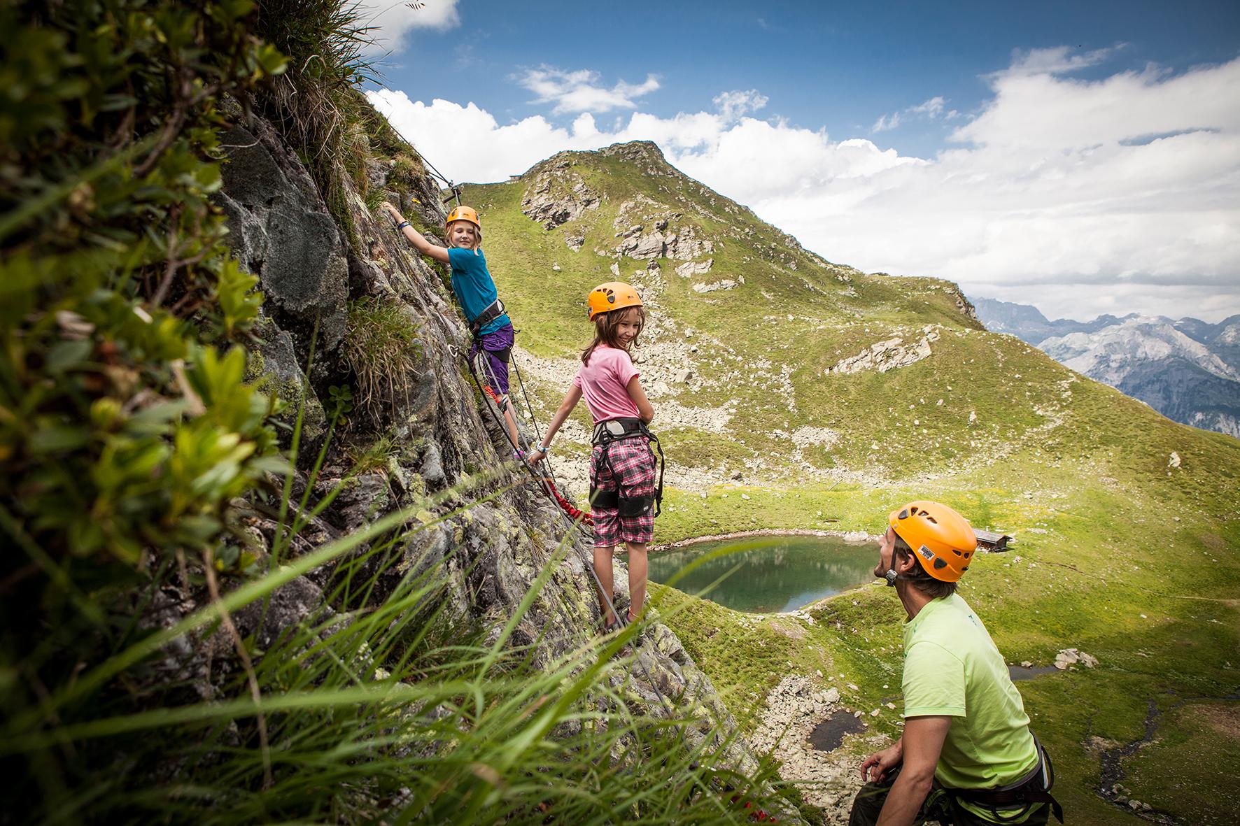 Klettersteig Montafon : Klettersteig kälbersee Österreichs wanderdörfer