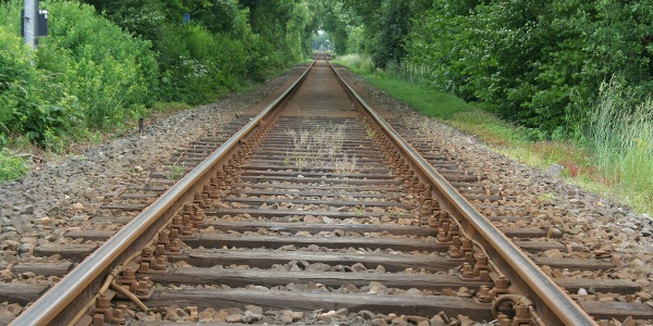Bahnlinie bei Deinste